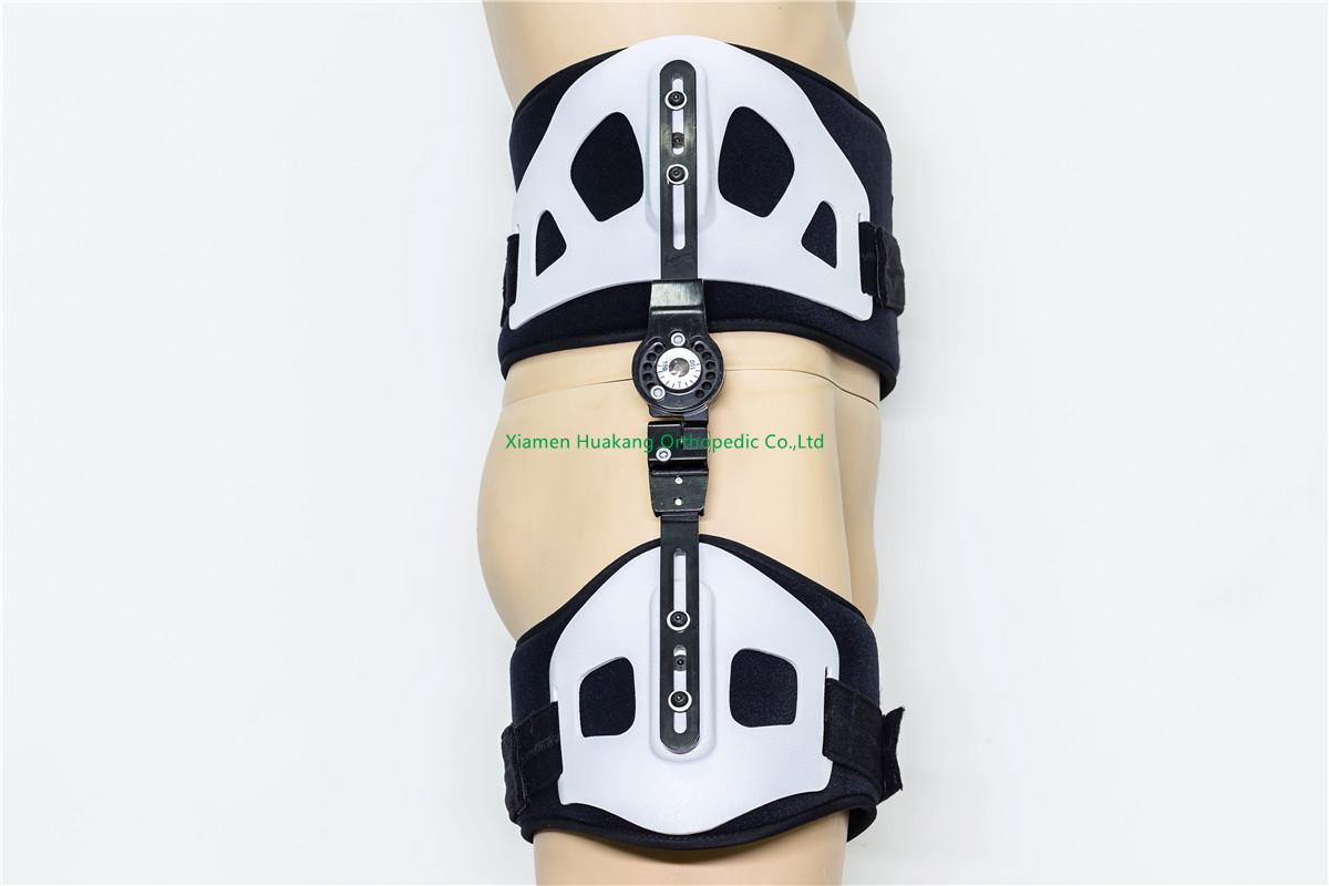 rom hinged abduction splint braces for leg immobilization