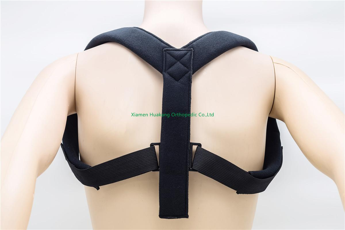 Neck and shoulder Support for posture corrector