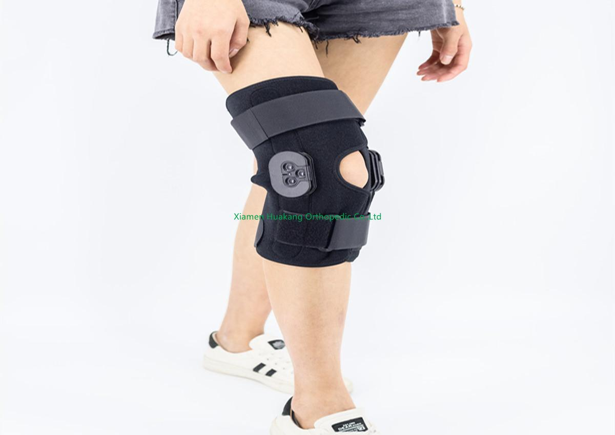 support and stabilize an injured knee.