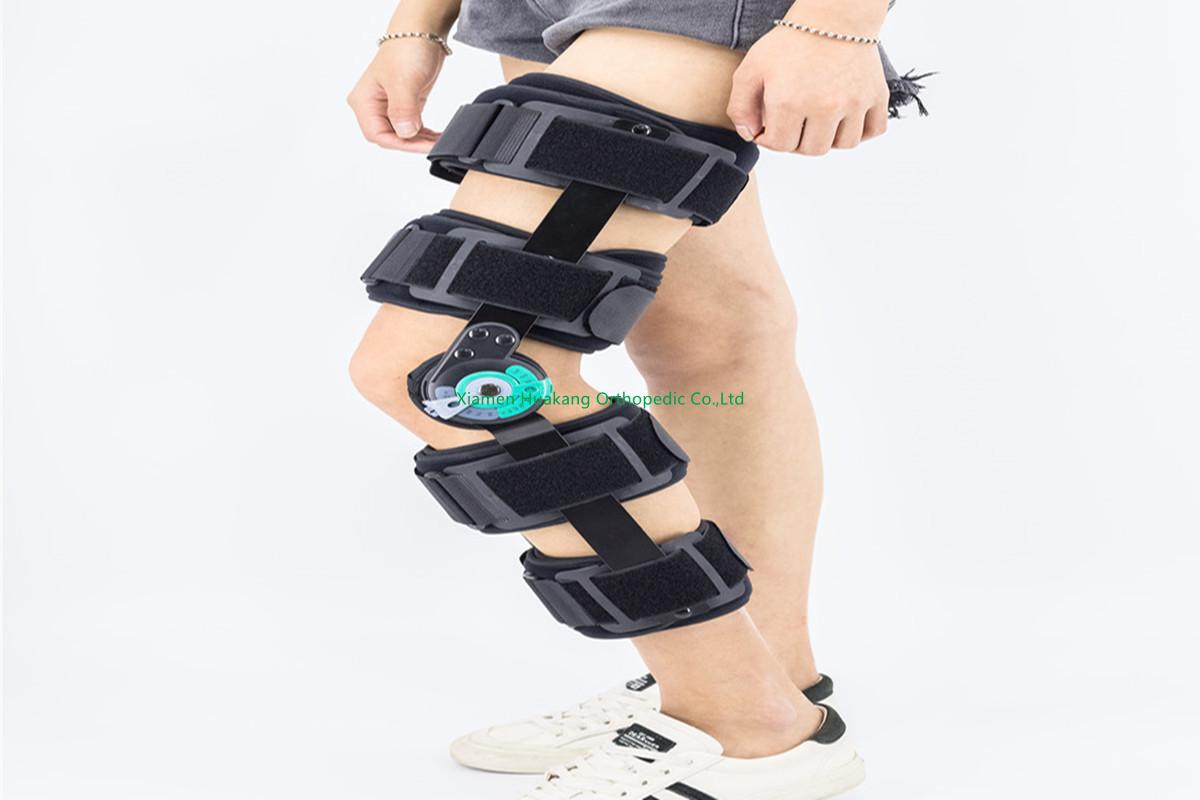 "20"" ROAM hinged knee supports immobilizers"