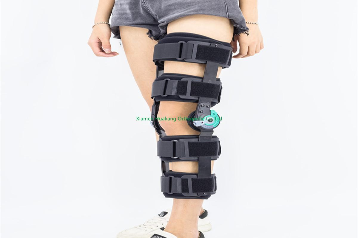 Adjustable Post-op ROM knee splints braces