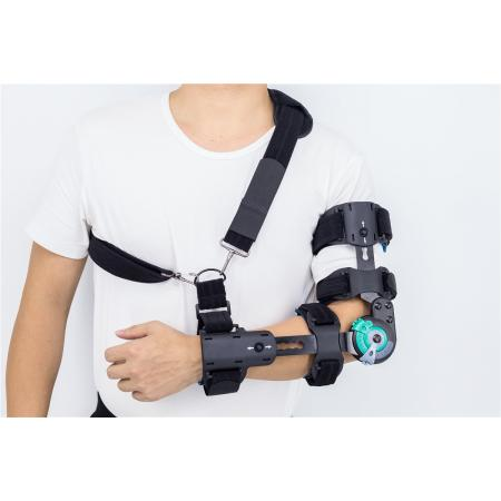Hinged Rotary post-op elbow splints supports