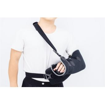 Shoulder pillow abduction braces with arm slings