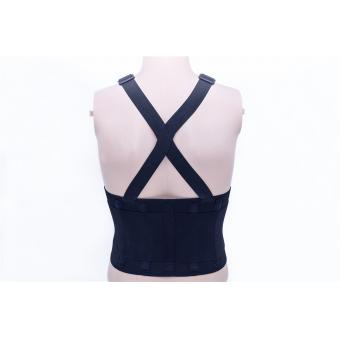 Breathable lumbar waist support for working