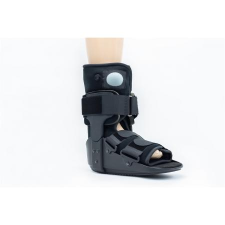 Short Poly aircast walker boot braces