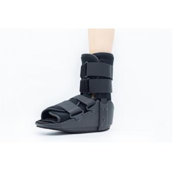 Orthopedic cam walking boot braces
